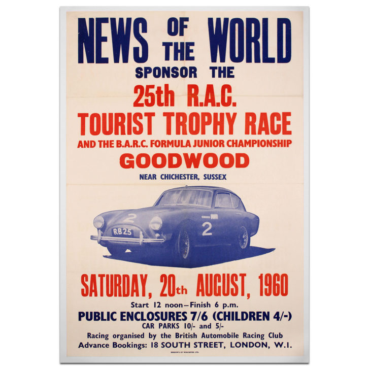 Goodwood-TT-1960 Poster