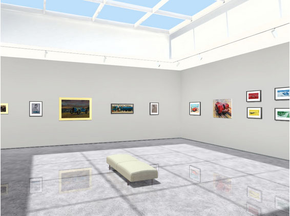 Land Speed Record 3D Gallery