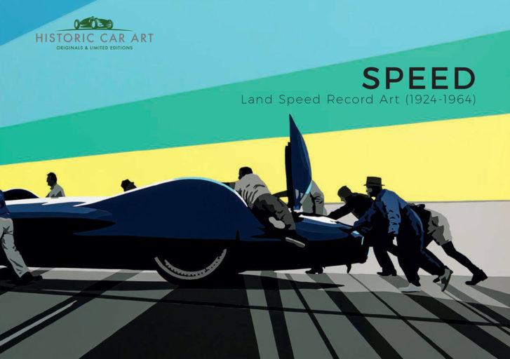 SPEED: Land Speed Record Art (1924-1964) Book