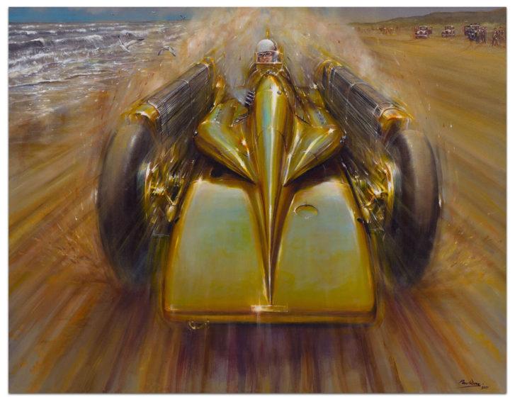 Golden Arrow by Paul Dove