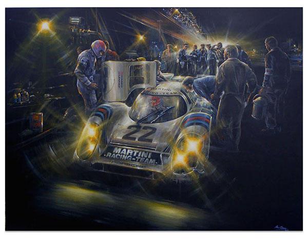 Martini Racing Porsche 917K Le Mans 1971
