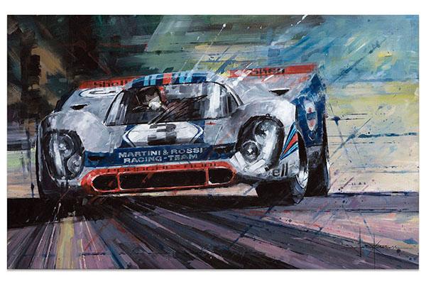 Martini Racing Porsche 917K Sebring 1971