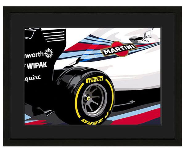Williams FW36 - Martini