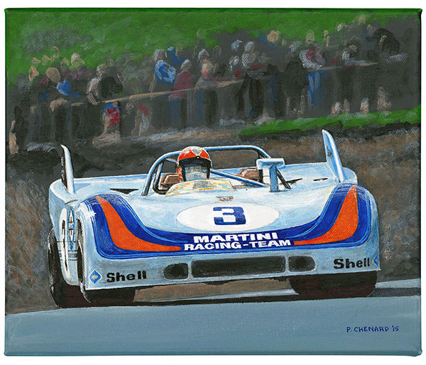 Martini Racing Porsche 908/3 - Nurburgring 1971