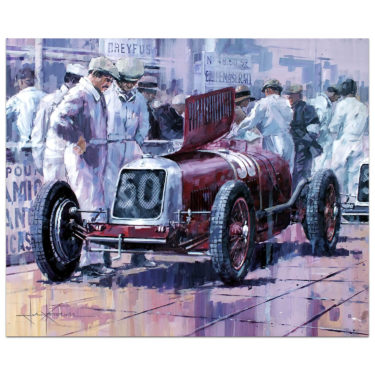 Historic Car Art