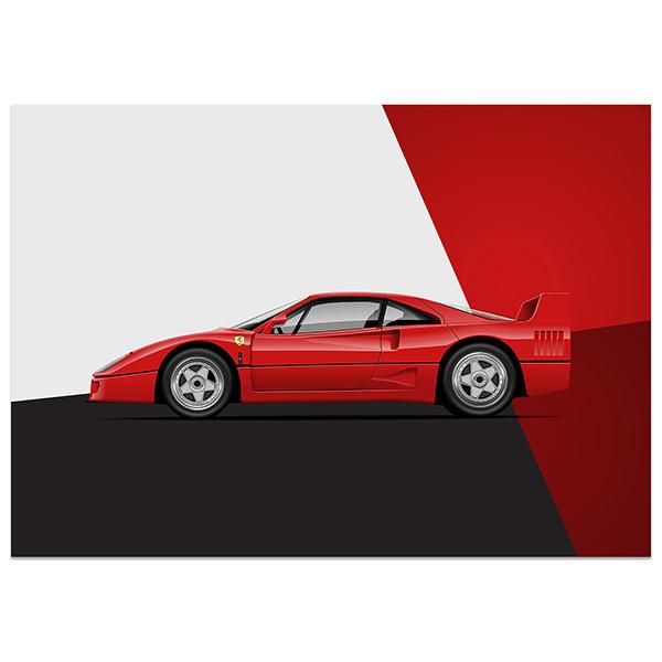 Rear View Prints – Car Culture and Art
