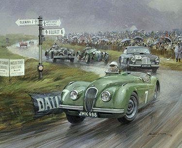 Historic Car Art